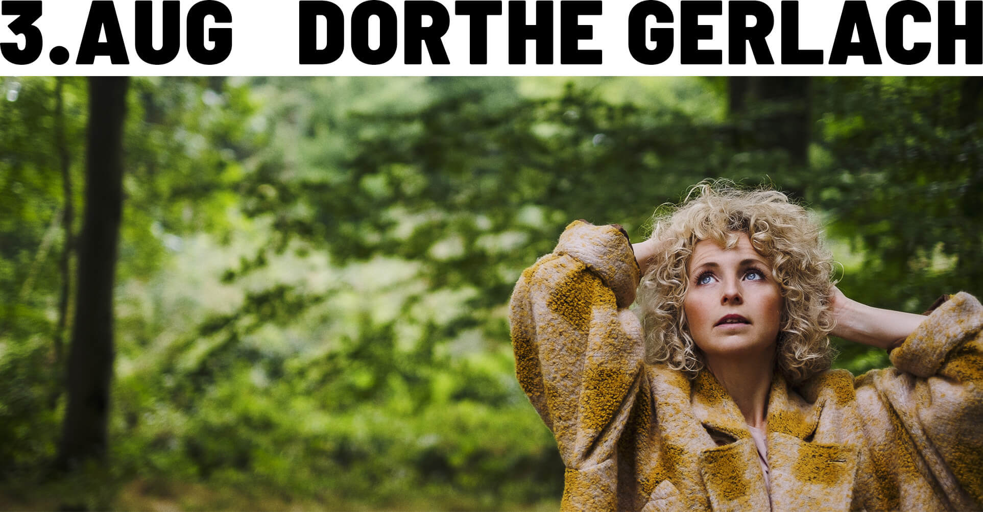Dorthe Gerlach - Cinema Concert - 3. august