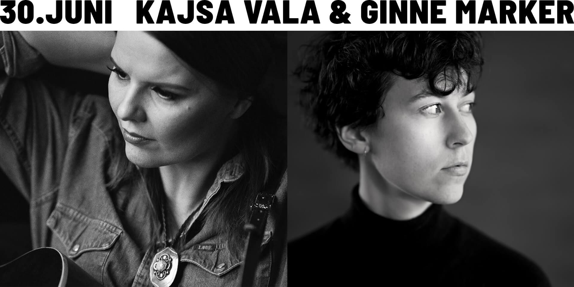 Kajsa Vala & Ginne Marker -  Cinema Concert - 30. juni